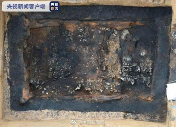 Los arqueólogos han encontrado un grupo de tumbas de la dinastía Han alrededor de Xi'an. (People's Daily China)