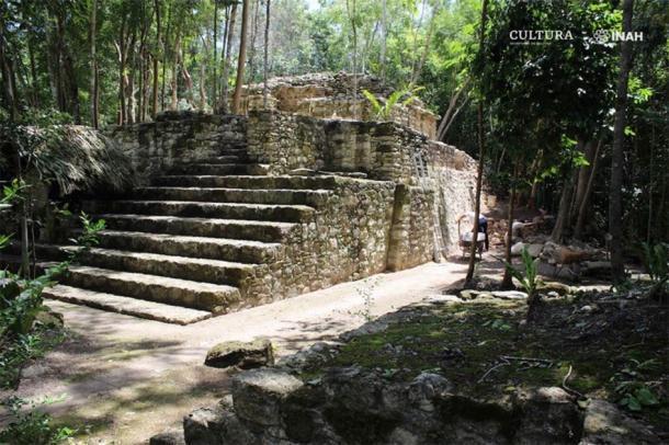 Los arqueólogos consideran que esta es una de las estructuras más significativas en el sitio. (María José Con Uribe)