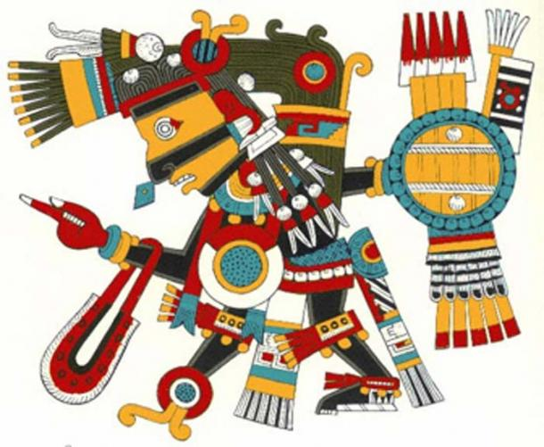 El dios azteca Tezcatlipoca fue el sol durante la primera edad. (Arquen / CC BY-SA 3.0)