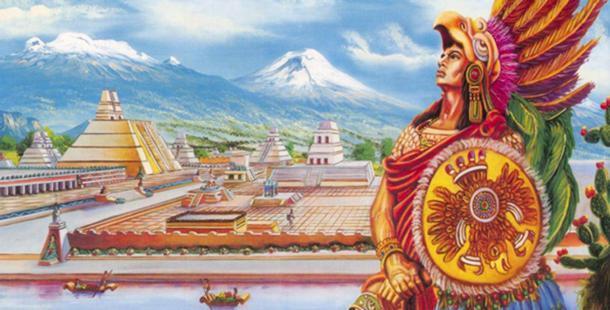 Representación de Cuauhtémoc, el último tlatoani (líder de los aztecas). (Morelianas)