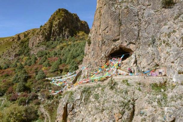 Cueva Baishiya Karst en Xiahe, China. (Dongju Zhang, Lanzhou University)