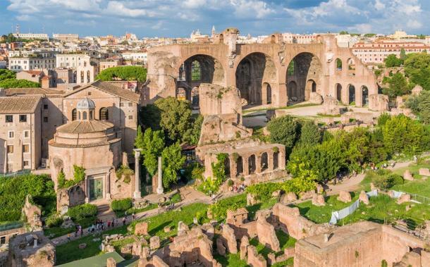 Basílica Santi Cosma e Damiano, Roma (e55evu / Adobe Stock)