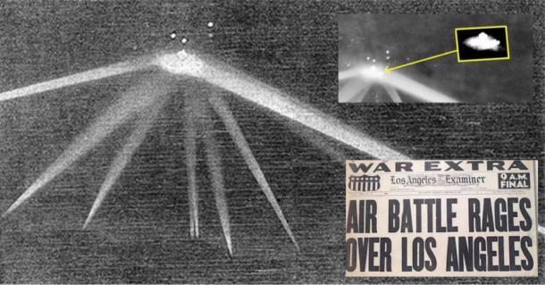 El incidente OVNI de la batalla de Los Ángeles