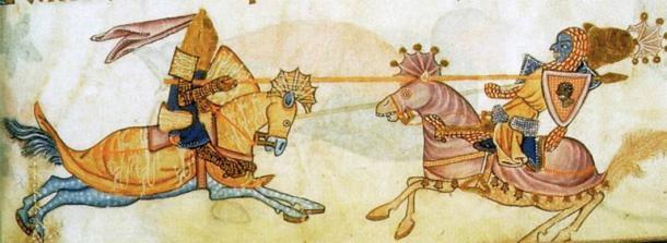 La batalla de Arsuf es famosa por el encuentro entre Ricardo Corazón de León y Saladino. (Dominio público)