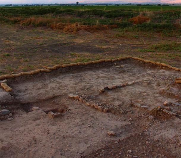 El campo de pira de Beisamoun, donde se descubrieron los restos del cementerio cremado en el norte de Israel. (© Misión Beisamoun)