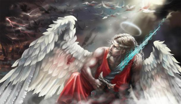 Los judíos y los cristianos creían que los dioses de la antigua Grecia y Roma eran ángeles caídos. (Lena_graphics / Adobe Stock)