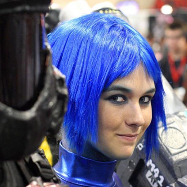 """Hoy en día, el cabello azul es un arquetipo de """"el futuro"""", pero en el pasado ni siquiera podíamos verlo (CC BY 2.0)"""
