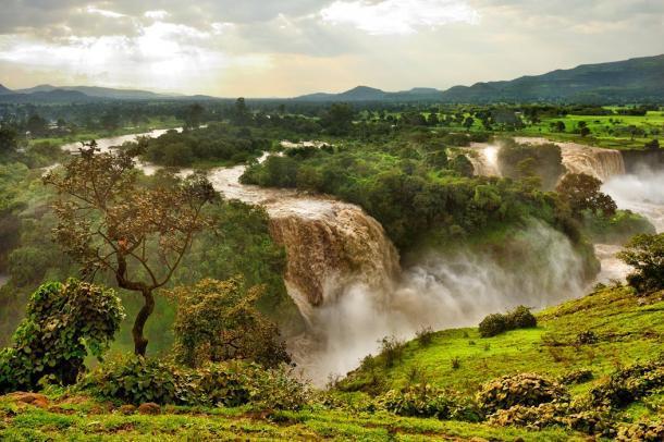 Cataratas del Nilo Azul, Etiopía, África. (alekosa / Adobe Stock)