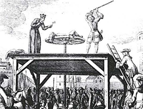 El torturador fracturó los huesos del hombre con un arma contundente. (Phildij / Dominio público)