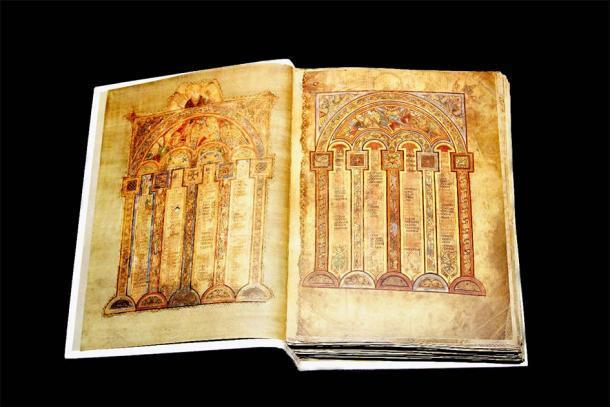Otro famoso libro medieval irlandés: The Book of Kells. (Warren Rosenberg / Adobe Stock)