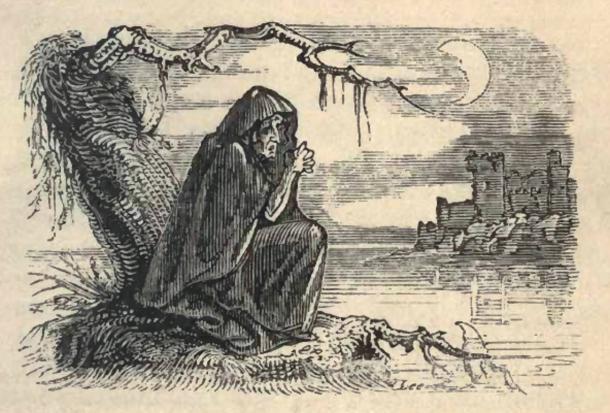 Bunworth Banshee, leyendas y tradiciones de hadas del sur de Irlanda. 1825. Dominio público