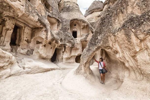 Capadocia - ciudad donde se descubrieron las tallas de granero. (olezzo / Adobe)