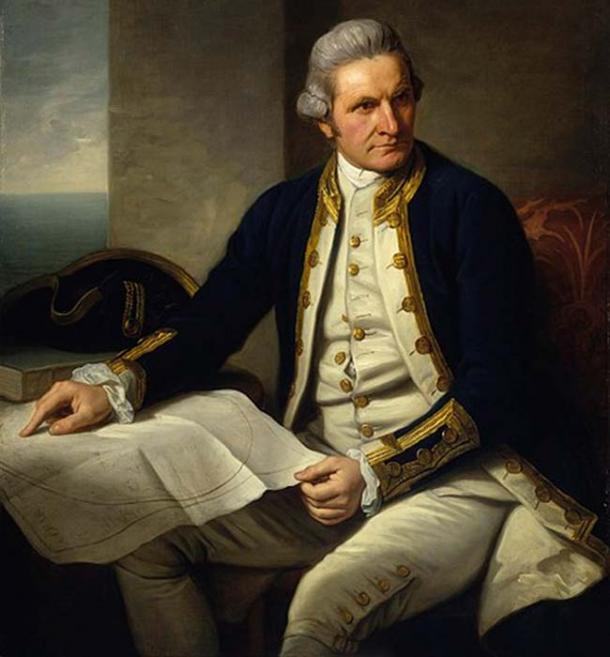 El capitán James Cook descubrió por primera vez la isla de Palmerston. (Trzęsacz / Dominio Público)