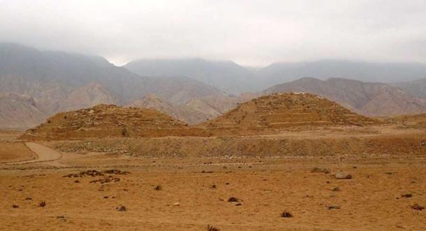 Las notables pirámides de Caral, Perú, que datan del período del Imperio Antiguo en Egipto. (Percy Meza / CC BY 3.0)
