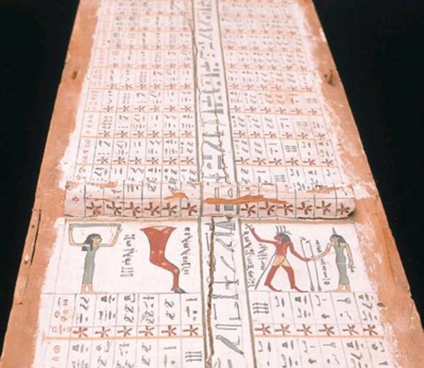 Carta estelar del reino medio egipcio. (Licencia pública general NebMaatRa / GNU)