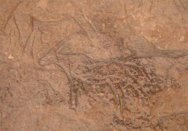 Las tallas incluían animales como camellos, ciervos, mulas, cabras montesas y burros. Foto cortesía del Ministerio de Antigüedades.