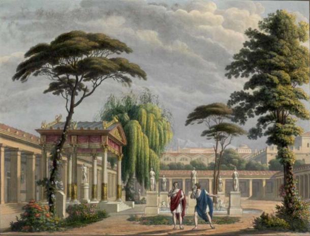 Casa de Diomedes cerca de las murallas de Pompeya. (Αππο / Dominio público)