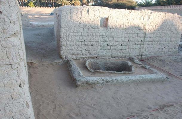 Casas excavadas en Hili 2 en Al Ain. (Departamento de Cultura y Turismo - Abu Dhabi)