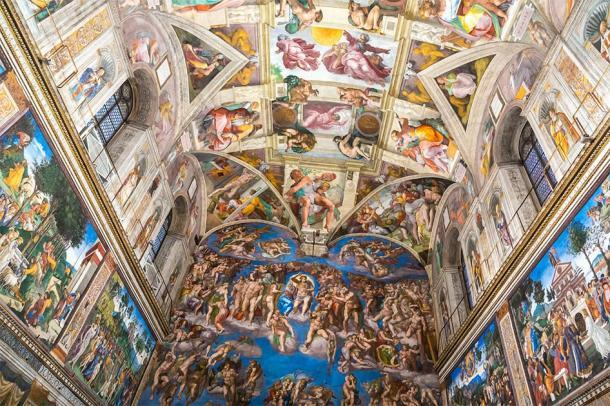 Techo de la Capilla Sixtina en la Ciudad del Vaticano. (Sergii Figurnyi / Adobe stock)