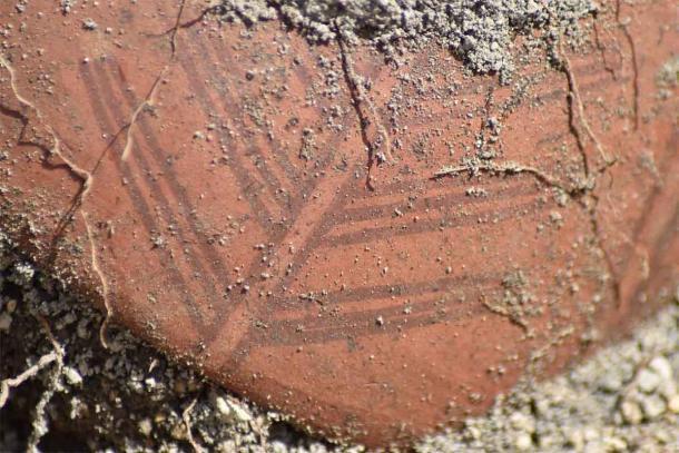 Algunas de las cerámicas están decoradas con diseños que no están asociados con la antigua cultura Inca. (EFE / Byron Ortiz / Proyecto Arqueológico Mulalo - Salatilin)