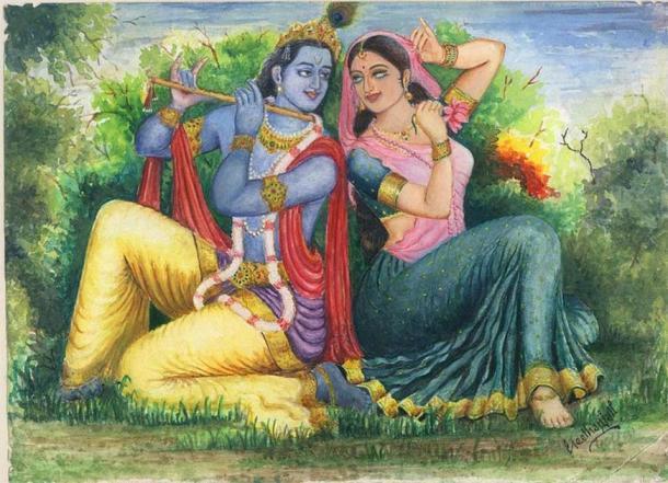 Uno de los personajes más interesantes asociados con el fuerte de Chittorgarh es Mirabai, una santa del Movimiento Bhakti que era una devota apasionada del Señor Krishna, para consternación de sus suegros. (CC BY-SA 3.0)