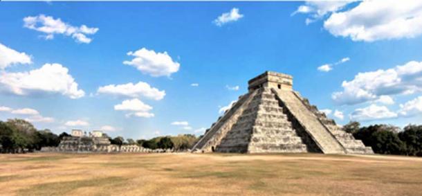 Chichén Itzá, Pirámide Kukulcán. (© georgefery.com)