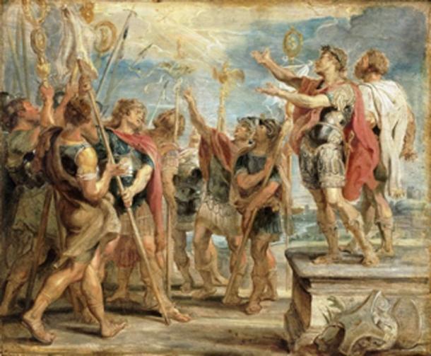 Cristianos en la era de Roma. (Trzęsacz / Dominio Público)