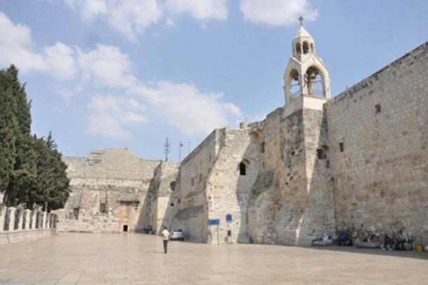 Iglesia de la Natividad donde se descubrió la pila bautismal. (Geagea / CC BY-SA 2.0)