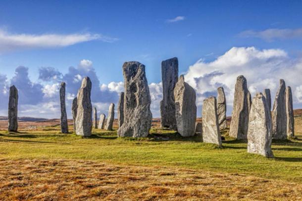 Círculo de piedra en Callanish, Isla de Lewis, Islas Occidentales, Hébridas Exteriores, Escocia, Reino Unido. (Colin & Linda McKie/ Adobe Stock)