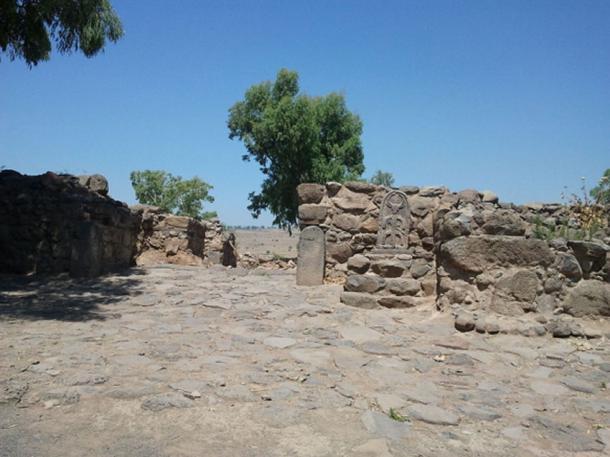 Puerta de la ciudad de Betsaida donde se descubrió la iglesia bizantina. (Hanay / CC BY-SA 3.0)