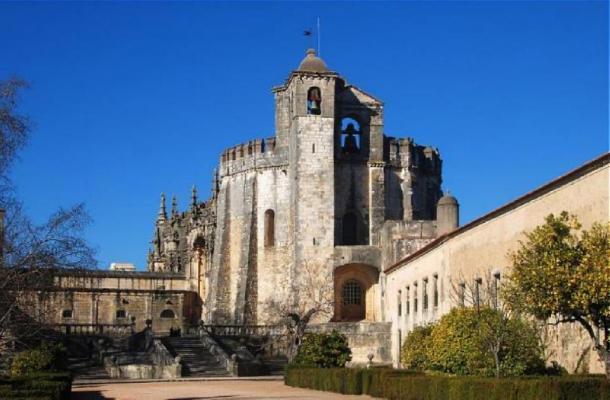 Convento de Cristo, Tomar, Portugal. Iglesia. (Alvegaspar / CC BY SA 3.0)