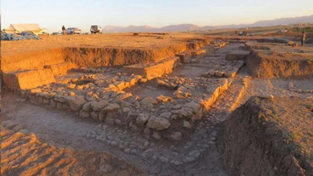 """Ciudad """"perdida"""" de 4.000 años de edad que bordeaba el antiguo Imperio mesopotámico. Crédito: Tenu / Mission Archeologique Francaise du Peramagron"""
