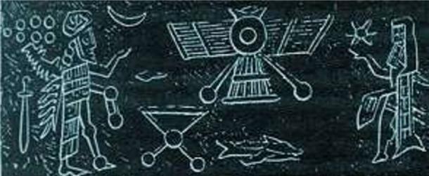 Muchas culturas contienen registros pictóricos y escritos de 'máquinas voladoras', sin embargo, estos generalmente se descartan como mitos y leyendas. (Wikimedia Commons)