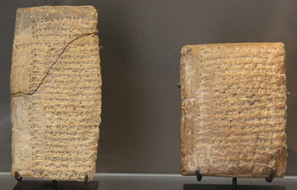 Las tabletas de arcilla cuneiforme de Ebla mencionan nombres amorreos en los archivos de la ciudad. (ाटलिपुत्र / Dominio Público)