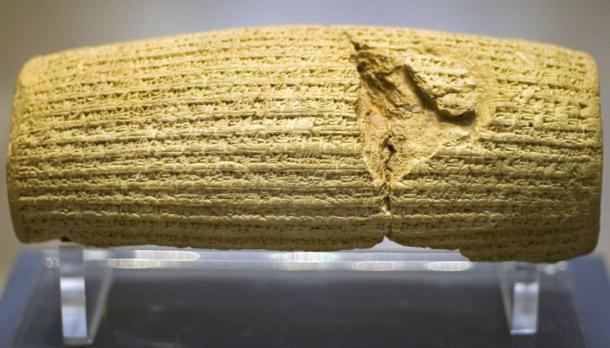 Delante del cilindro Cyrus. (Prioryman / CC BY-SA 3.0)