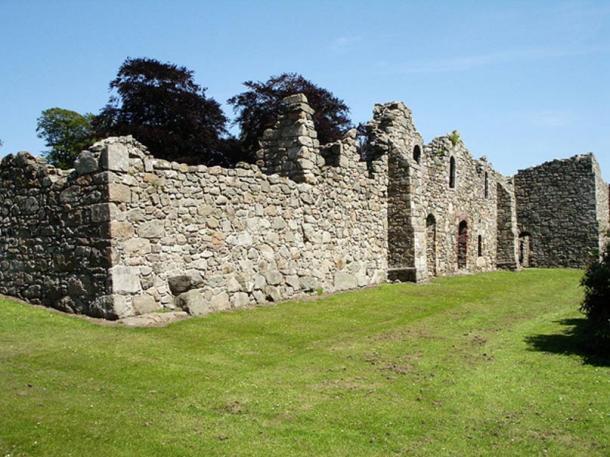 Abadía de ciervos en Escocia. (Dominio público)