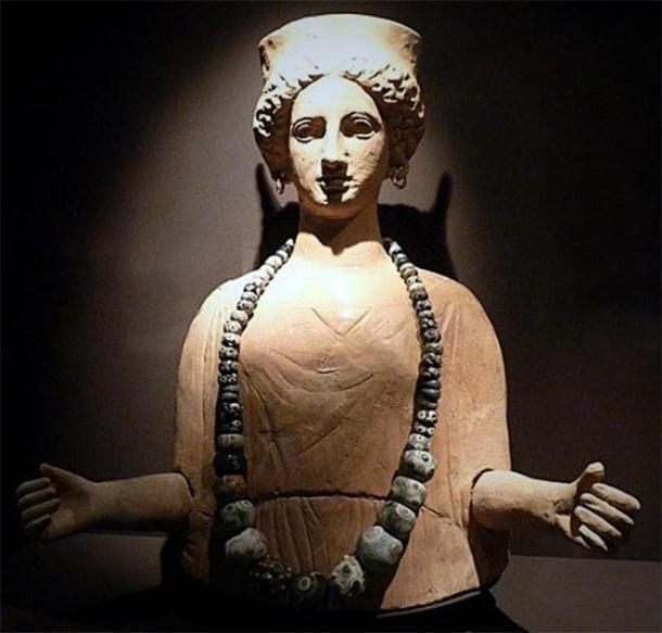 Antigua deidad cartaginesa Tanit, Ibiza. (Proporcionado por el autor)