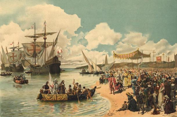 Salida de Vasco da Gama a la India en 1497. (Dantadd / Dominio Publico)