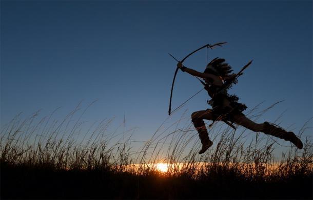 Representación de la mujer guerrera nativa americana. (Roger / Adobe stock)