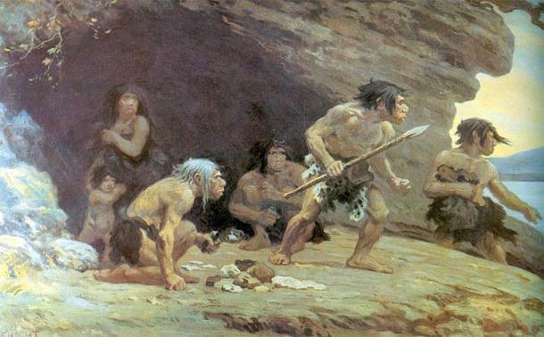 La descripción del Basajaun tiene un parecido sorprendente con los neandertales, que perseveraron en el País Vasco moderno mientras desaparecían de otras partes de Europa. (Dominio público)