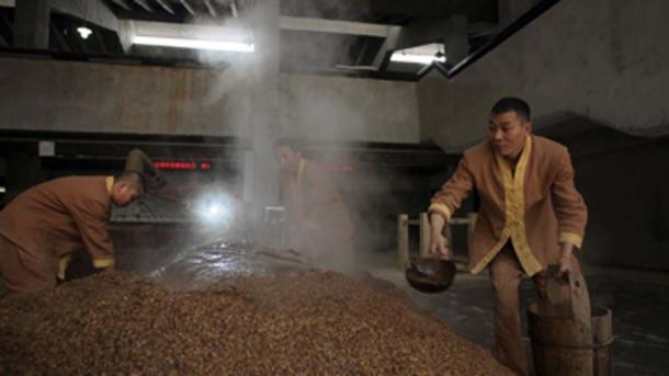 La destilería Shu Jing Fang ha estado en funcionamiento durante más de 600 años. (Diageo / Uso justo)