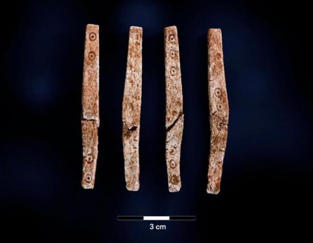 El dado de cuatro lados. (Imagen: Museo de la Universidad de Bergen)