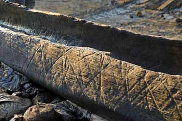 Un bote de madera perteneciente a los inicios de la Edad de Bronce fue encontrado en el año 2011 en el canal antiguo de un río.