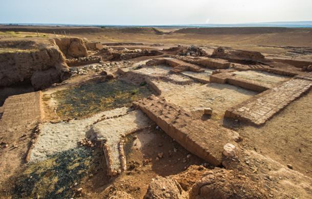 Ebla: el moderno Tell Mardikh, Siria, antigua ciudad a unos 55 kilómetros (34 millas) al suroeste de Aleppo. (siempreverde22 / Adobe)