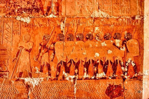 Expedición egipcia a Punt durante el reinado de Hatshepsut. (CC BY-SA 3.0)
