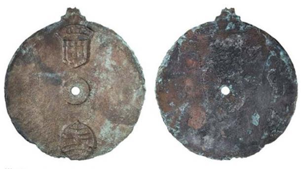 El astrolabio es un disco de bronce, que mide 17.5 cm de diámetro (Imagen: Philip Koch)