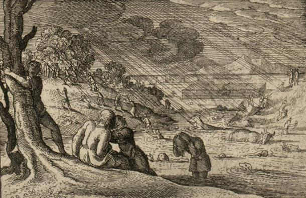 El diluvio del reino hundido, Cantre'r Gwaelod. (Jason.nlw / Dominio Público)