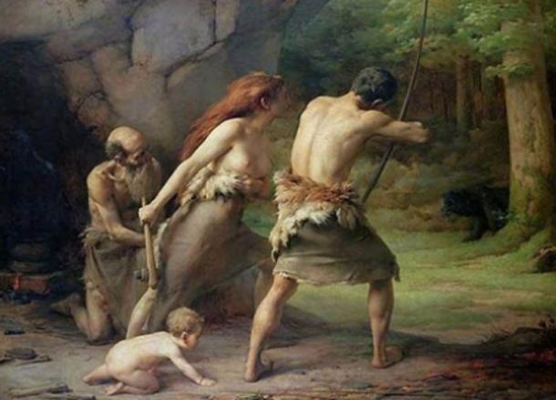 El hombre prehistórico cazó a los osos de las cavernas hasta la extinción. (Murmullo Erde / Dominio público)