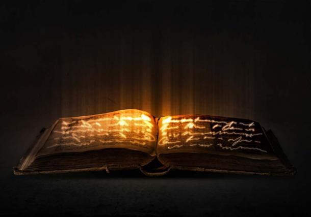 El Libro Negro, un texto del diablo que contiene hechizos y encantamientos. (Sergey Nivens / Adobe)
