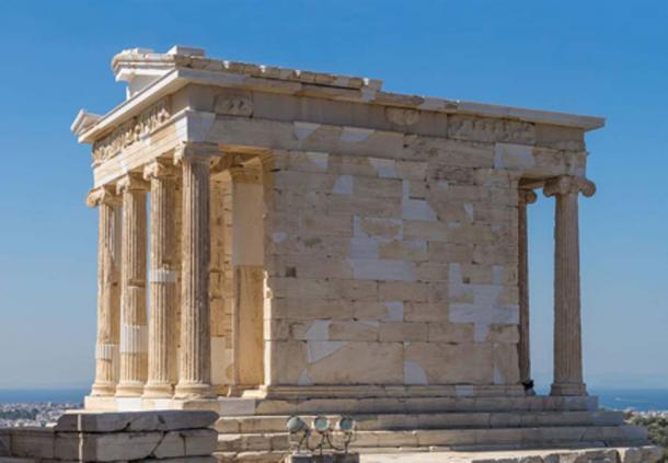 El Templo de Atenea Nike, Acrópolis de Atenas. (Jebulon / Dominio público)